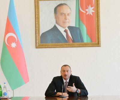 """Глава государства: """"По темпам экономического развития Азербайджану нет равных в мире"""""""