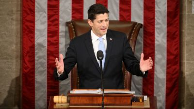 US: Paul Ryan elected House speaker