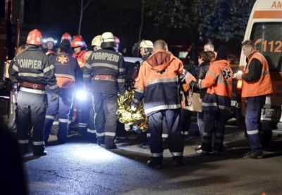 Romanian nightclub fire: 27 dead, 155 injured