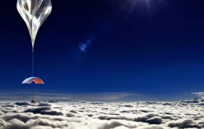 Путешественникам предложат тур в стратосферу на воздушном шаре