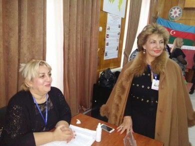 Voters are actively participating at elections in Azerbaijan, Sofa Landwehr says