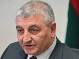 Mazahir Panahov casts his vote