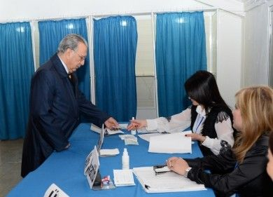 Head of Presidential Administration votes