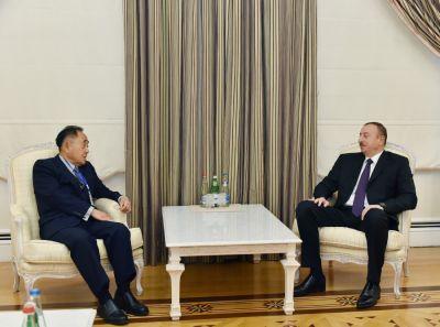 Ильхам Алиев принял сопредседателей Постоянного комитета Международной конференции политических партий Азии