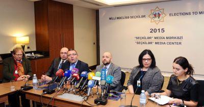 Международные наблюдатели: Парламентские выборы прошли на очень высоком уровне