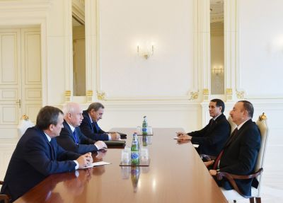 President Ilham Aliyev received a delegation led by the Chairman of the CIS Executive Committee