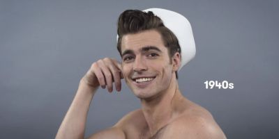100 years of men's hairstyles in under 2 minutes