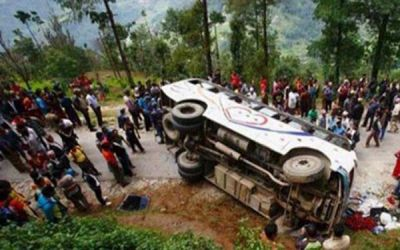 Nepal bus accident: 30 killed, 35 injured