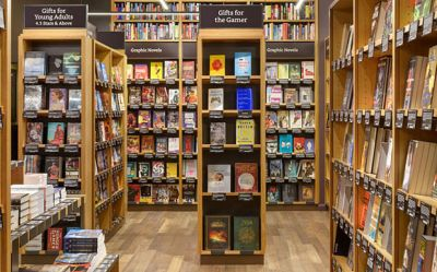 Amazon opens its first physical bookshop