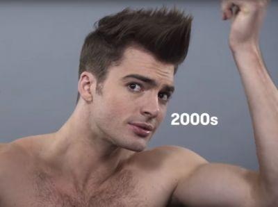 Изменение стандартов мужской красоты за последние сто лет