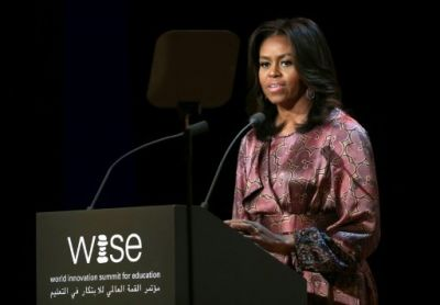 "Michelle Obama called for an end to ""outdated laws and traditions"""