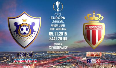 Qarabag and Gabala to hold next match of Europa League