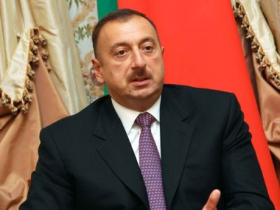 President Ilham Aliyev visited the Heroes Memorial in Tbilisi