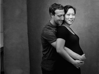 Марк Цукерберг опубликовал снимок беременной жены ФОТО