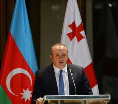 Presdident of Georgia: We are grateful to Azerbaijan