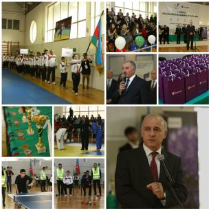 Azercell supports I Children's Paralympic Games