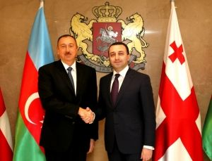 Azerbaijani President meets with Georgian Premier