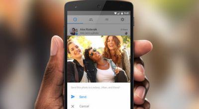 Facebook научился искать друзей в фотографиях на смартфоне