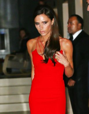 Victoria Beckham looks stunning at the Glamour awards