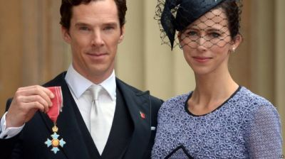 Benedict Cumberbatch receives CBE