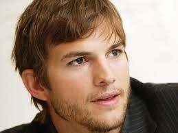 Ashton Kutcher shared his daughter's photo