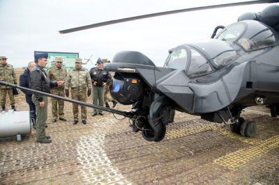 Состоялись летно-тактические учения боевых вертолетов ФОТО