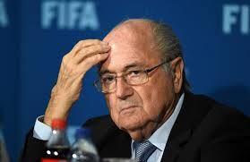 Blatter in hospital for stress
