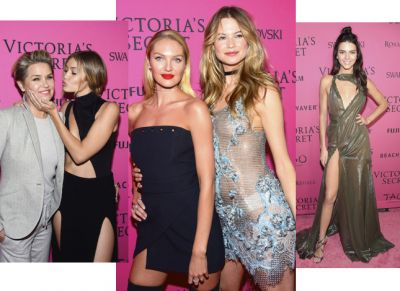 Звезды на афтепати шоу Victoria's Secret ФОТО