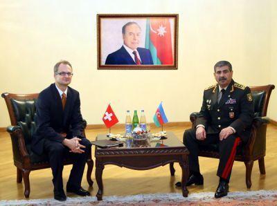 Министр обороны встретился с послом