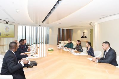 Azerbaijan's First Lady meets UNFPA Executive Director and UN Under-Secretary-General PHOTOS