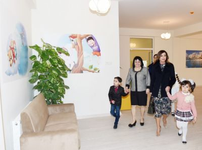 President of Heydar Aliyev Foundation attended the opening of orphanage -kindergarten PHOTOS