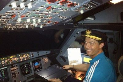 Ronaldo buys a multi-million pound private jet