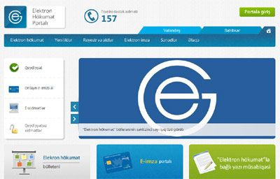 Nearly 355,000 people visited e-government portal in October
