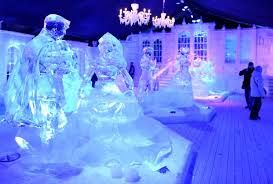 Warm weather in November affects Belgium ice festival