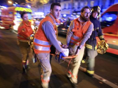 The IS group  behind a series of terror attacks, Hollande says