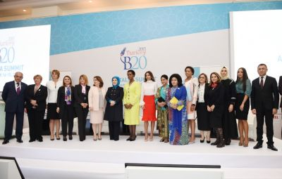 Azerbaijan's First Lady attends Business 20-Women 20 joint panel  PHOTOS