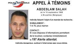 Manhunt under way for Paris attacks suspect