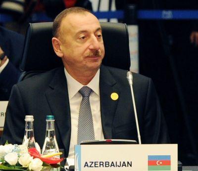 """Ильхам Алиев: """"Азербайджан активно участвует в борьбе с международным терроризмом"""""""