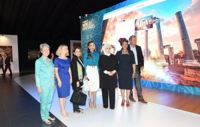 Первая леди Азербайджана ознакомилась с выставкой на культурной территории «G-20»-«Yurd»