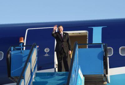 Azerbaijani President ended his working visit to Turkey