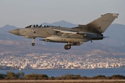 UK Air Force hits new ISIS targets