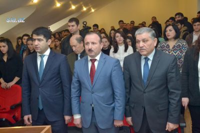 A meeting held dedicated to the 23th anniversary of the New Azerbaijan Party