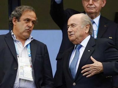 Blatter & Platini appeals against bans rejected