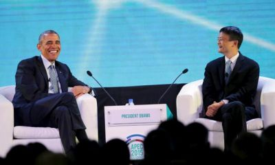 Obama interviews Alibaba billionaire Ma