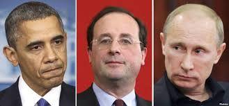 Олланд хочет, чтобы Франция, Россия и США вместе покончили с ИГ