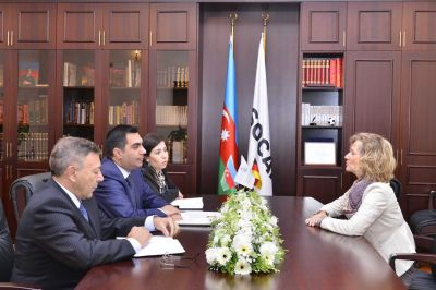 Baku Higher Oil School expands relations with Germany