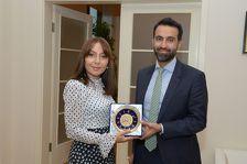 British Ambassador visits Baku branch of Moscow State University
