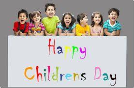 Today Universal Children's Day