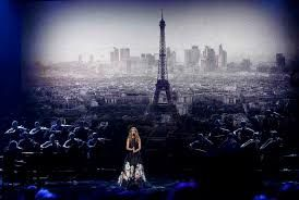 Celine Dion leads music world in mourning Paris