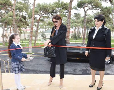 President of Heydar Aliyev Foundation attends opening of special boarding school No.4 in Shuvalan  PHOTOS